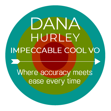 Dana Hurley VO - highly sought after female voice-over artist